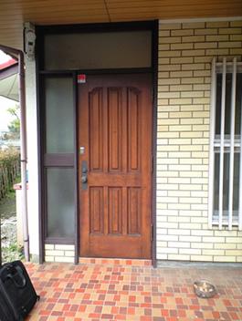 施工前既存のドア