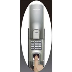 FUKI社 「タッチロック」指紋認証・暗証番号式(電池式)補助錠